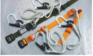 Safety Belt with Double Lanyard