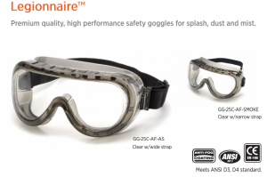 SAFETY GLASSES-LEGIONAIRE GG25C