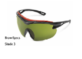 Safety Glasses-Welding-Brow Specs Shade3