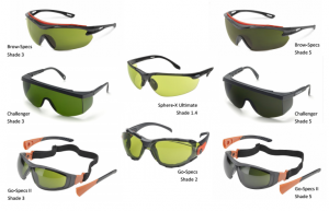 SAFETY GLASSES-WELDING
